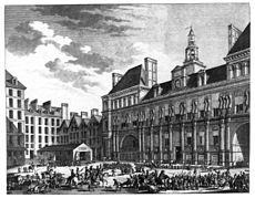 Berthault_-_Das_Volk_von_Paris_vor_dem_Rathaus